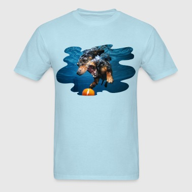 Underwater Dogs Rhoda by Seth Casteel - Men's T-Shirt