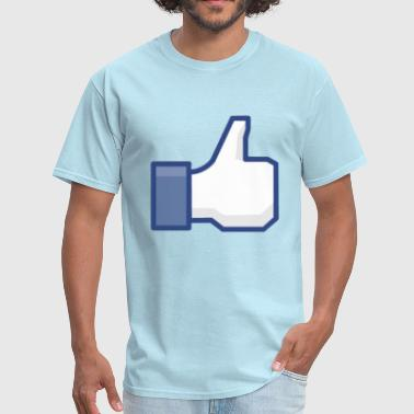 Facebook Like/Thumbs Up: Cool Party Fun Design T-Shirt T Shirt TShirt - Men's T-Shirt