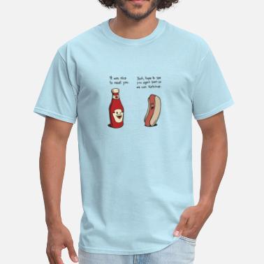 1ffeb0508bce Funny Jokes Funny ketchup and hotdog conversation - Men  39 s ...