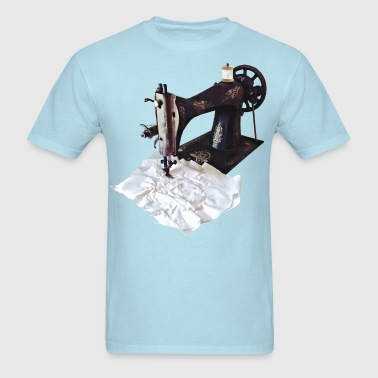 Vintage Sewing Machine Circa 1850 - Men's T-Shirt