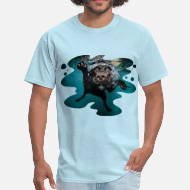 Seth Casteel Underwater Dogs Duch by Seth Casteel - Men's T-Shirt