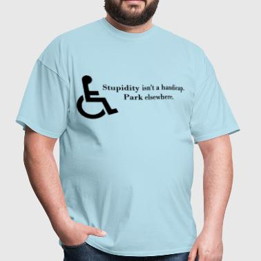 Handicapped - Men's T-Shirt