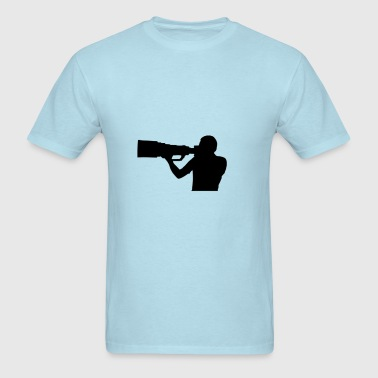 Photographer shape - Men's T-Shirt
