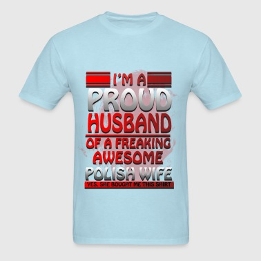 Lifestyle - Polish Wife - Men's T-Shirt