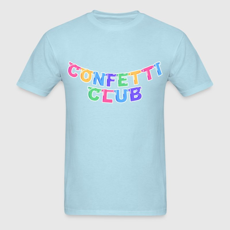 CONFETTI CLUB BANNER TEE - Men's T-Shirt