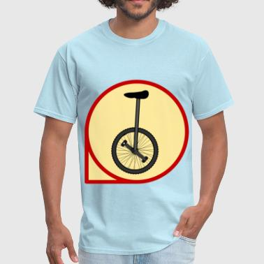 Unicycle Unicycle icon - Men's T-Shirt