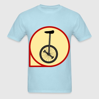 Unicycle icon - Men's T-Shirt