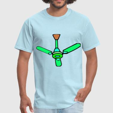 Green Ceiling Fan - Men's T-Shirt