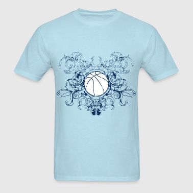 vintage_ball_sport_042016_basketball_a - Men's T-Shirt
