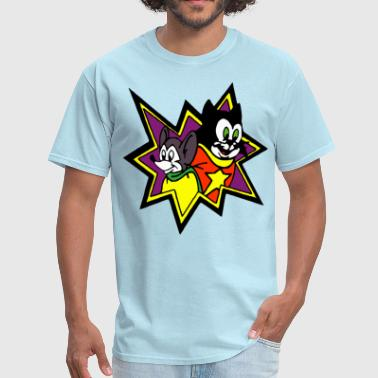 Cat And Mouse Heroes - Men's T-Shirt
