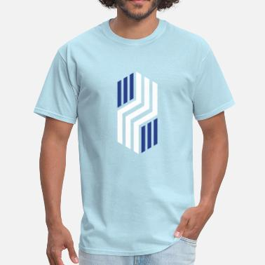 Vertical Lines - Men's T-Shirt