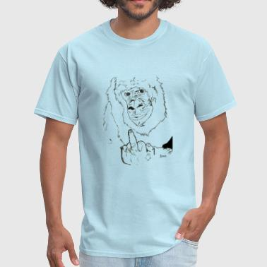 Fucking Monkeys The Fuck Monkey - Men's T-Shirt