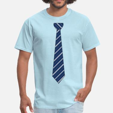 Fake Neck Tie - Men's T-Shirt