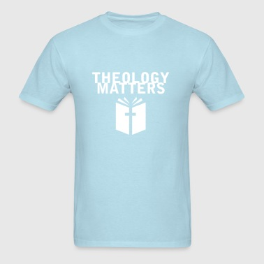 Theology Matters BABY BLUE - Men's T-Shirt