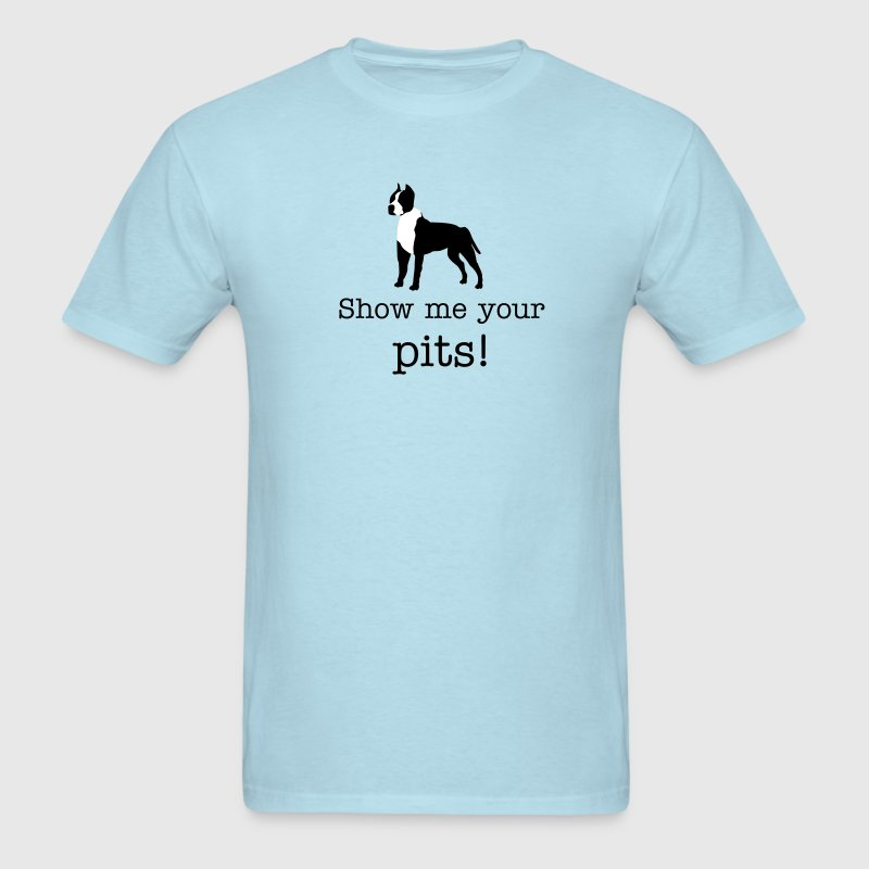 Pitbull Vector - Men's T-Shirt