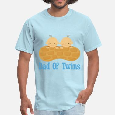 Dad Of Twin Boys Dad Of Twins (baby boys) - Men's T-Shirt