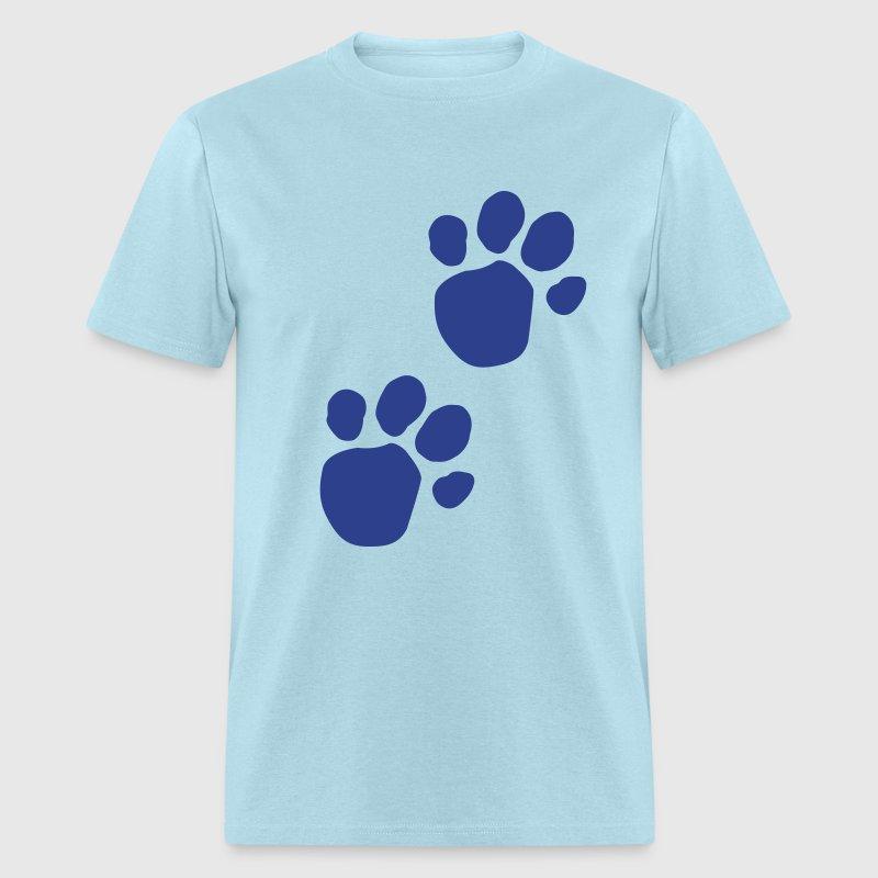 blues clues dog pawprint mens t shirt - Blue Clues