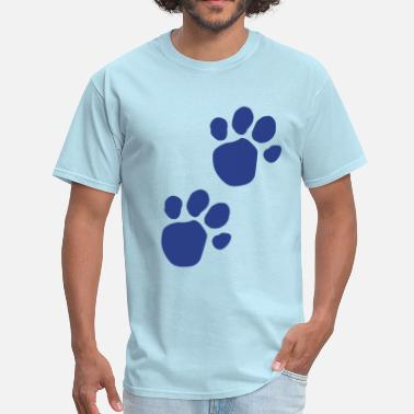 Pawprint Kids Blues Clues (Dog Pawprint) - Men's T-Shirt