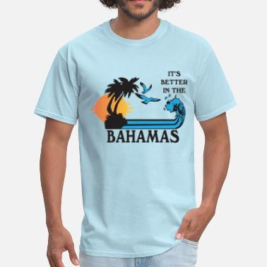 Vintage 80s Step Brothers Bahamas - Men's T-Shirt