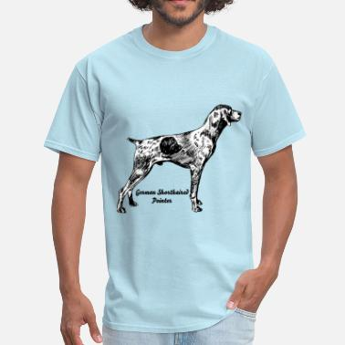 Dog German shorthaired - Men's T-Shirt