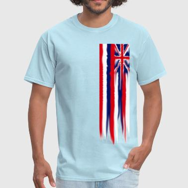 melting_flag - Men's T-Shirt