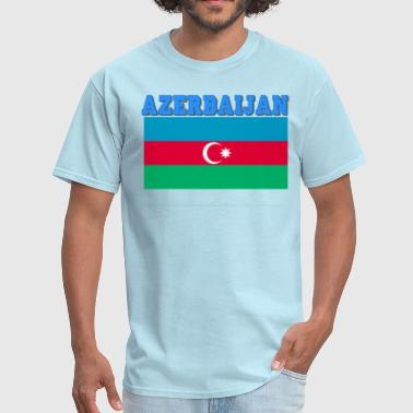 Azerbaijan Flag - Men's T-Shirt