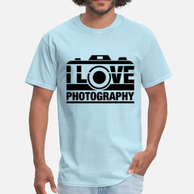 I Love Photography I Love Photography - Men's T-Shirt
