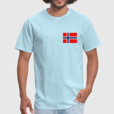 Norway Flag Norge Norway Flag - Men's T-Shirt