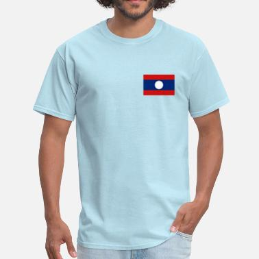Lao Flag Laos Flag - Men's T-Shirt