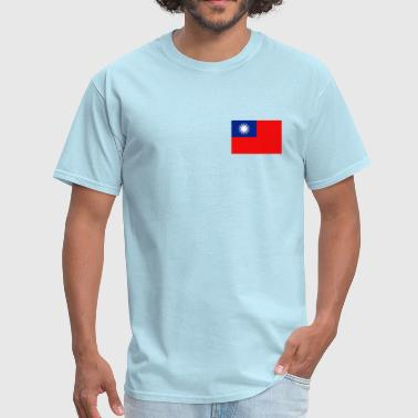 Taiwan Flag - Men's T-Shirt
