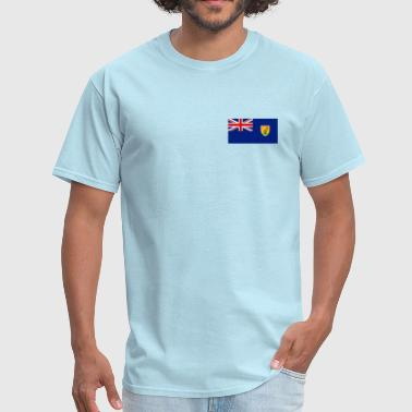 Turks and Caicos Islands Flag - Men's T-Shirt