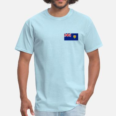 Turk Turks and Caicos Islands Flag - Men's T-Shirt