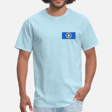Marianas Flag Northern Mariana Islands Flag - Men's T-Shirt
