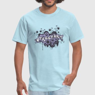Street ART Graffiti Logo - Men's T-Shirt