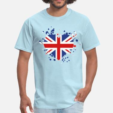 Olympic Handball flag heart English British England london olympic games olympics - Men's T-Shirt