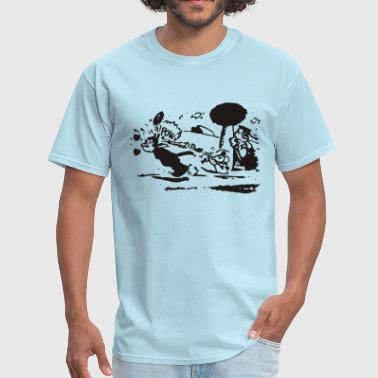 Fiction Pulp Fiction – Krazy Kat  - Men's T-Shirt