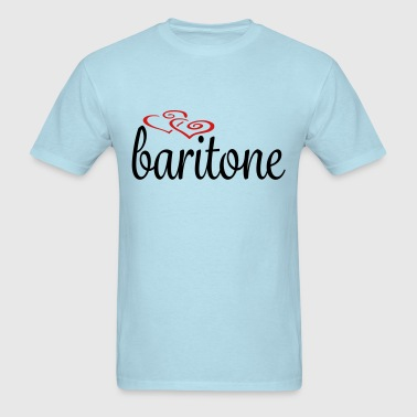Baritone Hearts - Men's T-Shirt