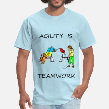 Agile Agility Is - Teamwork - Men's T-Shirt
