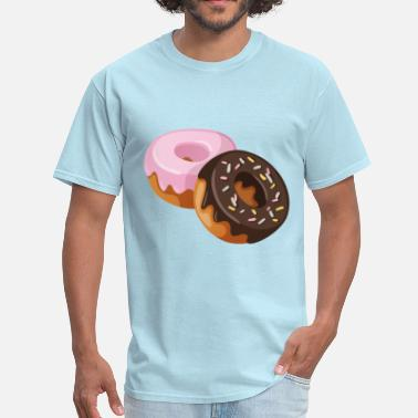 Donuts two donut - Men's T-Shirt