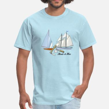 Step Brothers Boats Hoes BOATS AND HOES - Men's T-Shirt