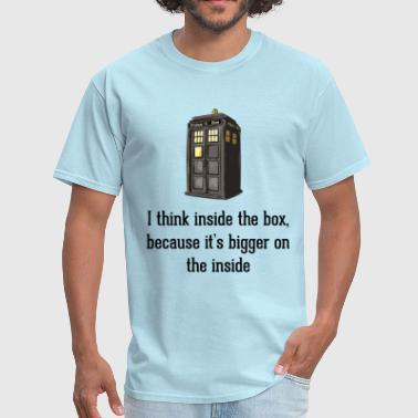 Thinking Inside The Box - Men's T-Shirt