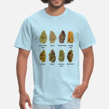 Weed Stoner Cannabis Buds - Men's T-Shirt