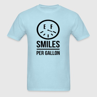 Dude in Blue Smiles T-Shirts - Men's T-Shirt