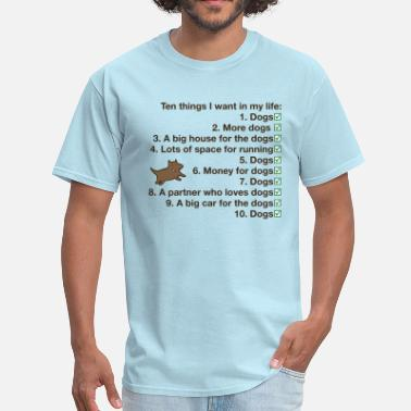 List Dog The List - Men's T-Shirt