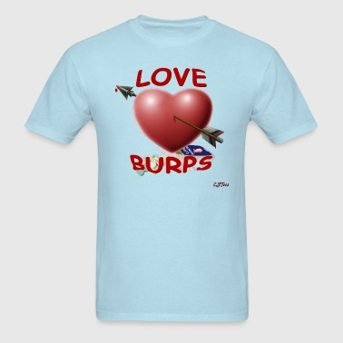 Love Burps - with logo - Men's T-Shirt