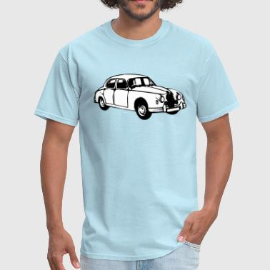 Jaguar Car Jaguar mk1 illustration - Men's T-Shirt