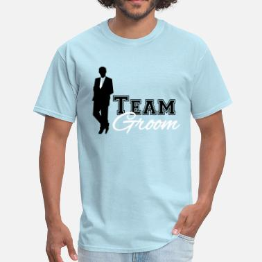 Team Groom Team Groom - Men's T-Shirt
