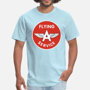 Flying A Gasoline Flying A - Men's T-Shirt