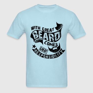 Bearded Man Quotes - Men's T-Shirt