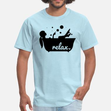 Jacuzzi relax in a bathtub - Men's T-Shirt